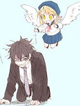 想要飛的天使與飛翔的男人